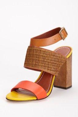 Clair Chunky Heel Sandal