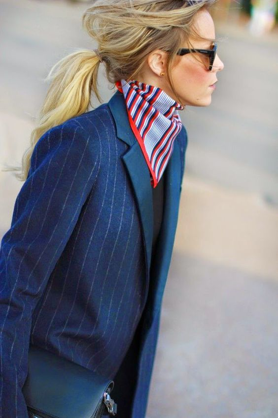 Style in Madrid: Trends 2015 Inspiration: Silk Scarf