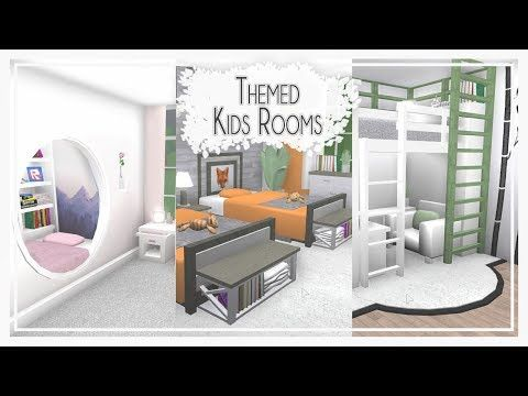 Bloxburg Kids Rooms Themed Room Styles Pt2 Youtube Themed Kids Room Bedroom Design House Decorating Ideas Apartments