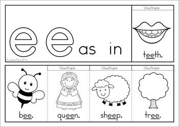 Worksheets Vowel Digraphs Worksheets ee vowel digraph games activities worksheets the unit o 84 pages a page from