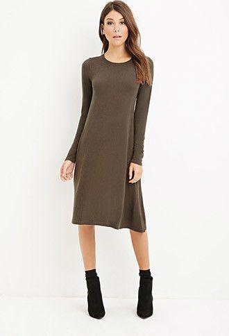 Midi T-Shirt Dress | Forever 21 - 2000142893