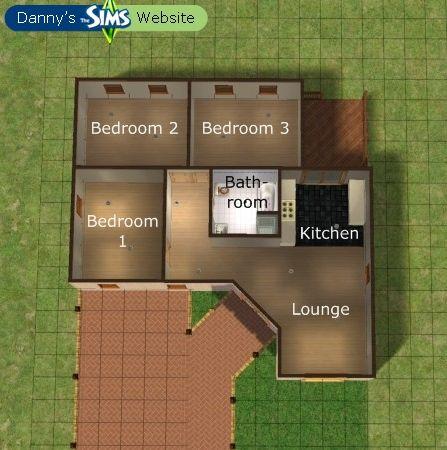 447 450 sims pinterest house plans for Sims 3 floor plan
