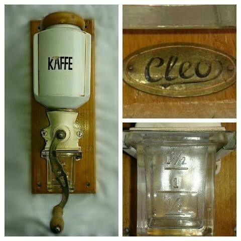 Antikk kaffekvern fra 1905