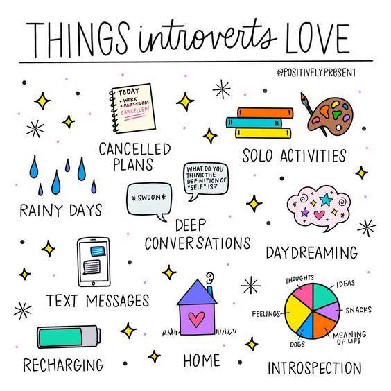 "Introvert, Dear on Twitter: ""Yessssss!  #introvert #introvertlife #introvertproblems  Credit: @positivelypresent… """