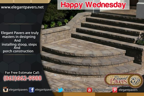 Happy wednesday #pavers #stoop #steps #construction Days