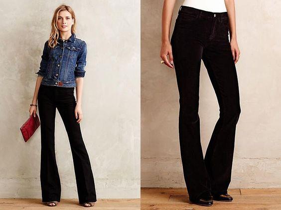 NWT Anthropologie MiH Marrakesh Skinny Flare Deep Brown Jeans Pants 32 x 34 $240 #Anthropologie #SkinnyFlare