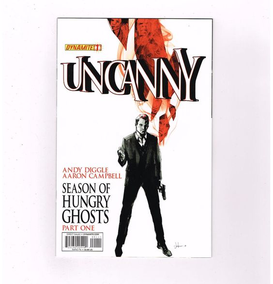 UNCANNY 6-part Modern Age series from Dynamite Entertainment! NM http://r.ebay.com/5PVt6c