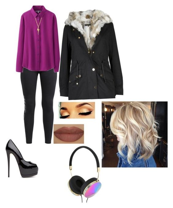 """""""Untitled #96"""" by aninhaporto ❤ liked on Polyvore featuring NIKE, Uniqlo, Bling Jewelry, Frends and Derriére"""