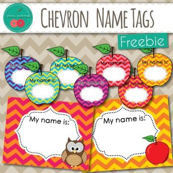 Name Tags with Chevron Background in Bright Colors.3 Designs in 7 colors schemes.If you like these, you may also like the:Chevron Classroom Decor BUNDLE>>>>>>>>>>>>>>>Click Here<<<<<<<<<<<<<<<<In the bundle:Classroom Jobs Cards Supply LabelsEditable LabelsWelcome Sign Buntings / ABC BuntingsTable SignsEditable Name Plates Clock LabelsWord Wall with 220 Sight Words and EDITABLE cardsBirthday PostersSh...