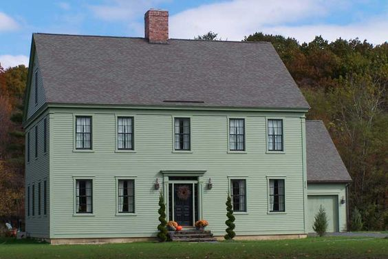 American Farmhouse Early American And New England On