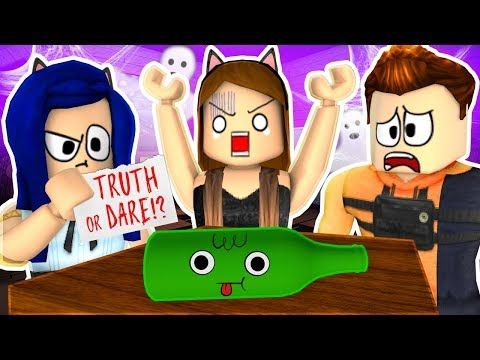Truth Or Dare Roblox Haunted House Story Youtube Haunted