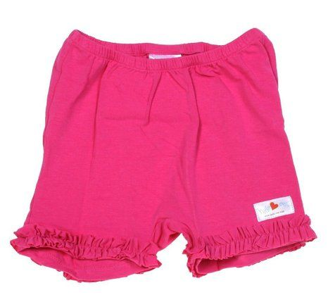 Amazon.com: Hide-ees Better Than Bloomers Girls Under Dress Shorts WITH Ruffle: Clothing Color: Hot Pink-ees Size Large at Amazon.com These come in many colors.