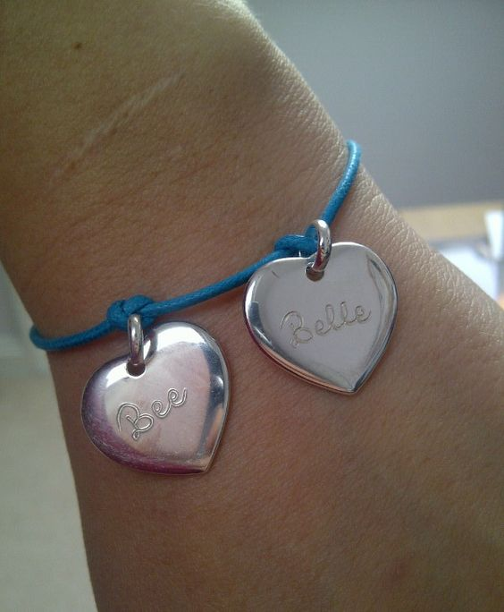 WIN a personalised charm bracelet from Merci Maman