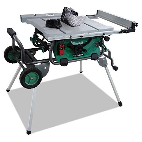 Hitachi C10rj 10 Jobsite Table Saw With Rolling Stand Best Price Daily Update Price Comparison Review Jobsite Table Saw Table Saw Best Table Saw