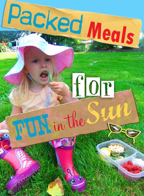 Ideas for packing lunch boxes for meals and snacks all summer long.