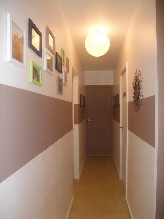 Peinture Couloir Étroit Maison Design decoration couloir d ...