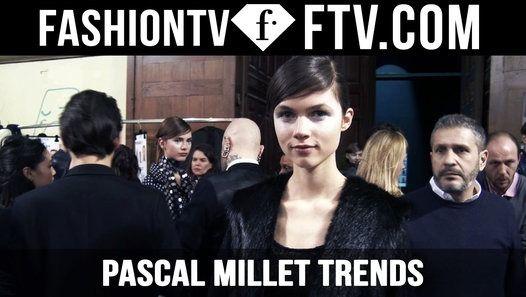 Paris Fashion Week F/W 16-17 - Pascal Millet Trends   FTV.com http://ift.tt/1UNhJGz #FashionTV #FTV #Fashion