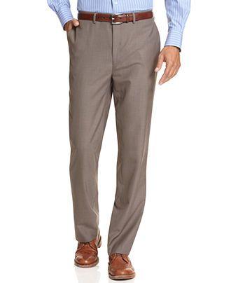 flat front dress pants - Pi Pants