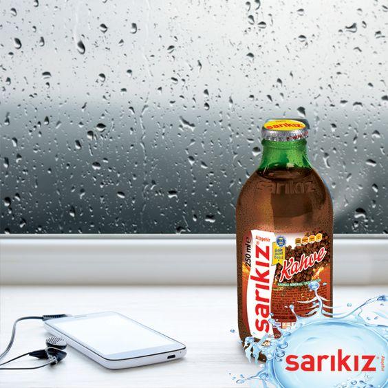 Yağmur yağarken müzik eşliğinde Sarıkız keyfi bir başka! #sarikiz #doğal #madensuyu #yağmur #keyif #eğlence #mutluluk