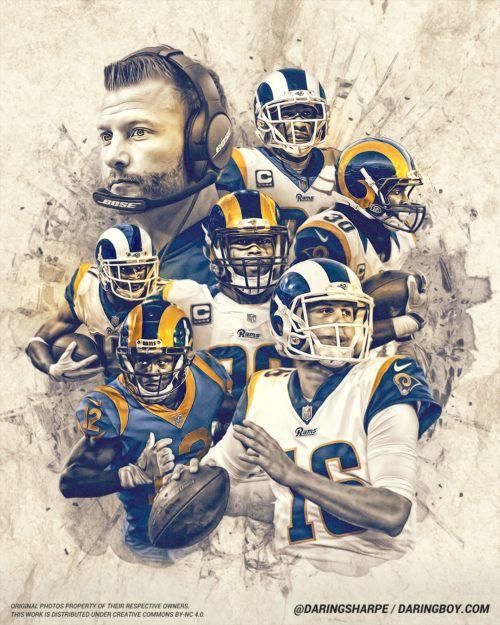 2019 Los Angeles Rams Daring Boy Interactive In 2020 Los Angeles Rams Nfl Rams Rams Football