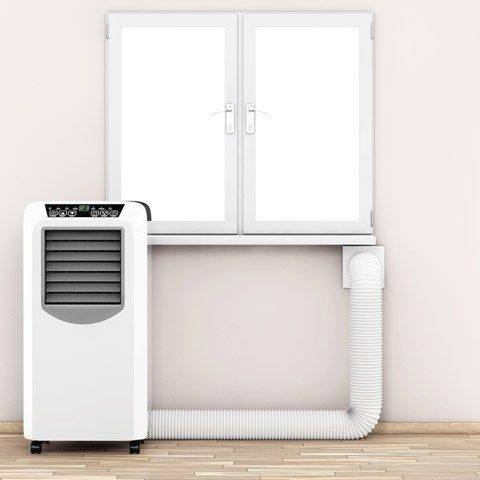 Portable Air Conditioner Venting Options With And Without A Window Casement Window Air Conditioner Portable Air Conditioner Window Portable Air Conditioner