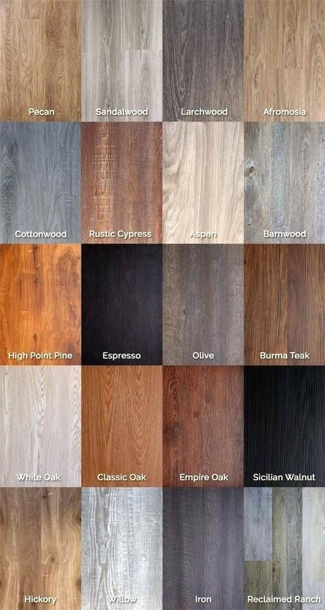 Vinyl Wood Flooring, Laminate Wood Flooring Colors