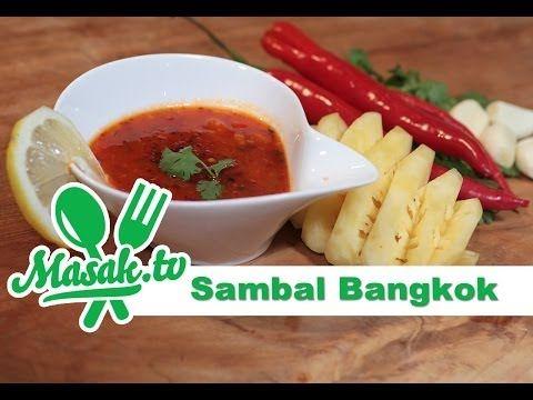 Sambal Bangkok Sambal 023 Youtube Makanan Pedas Resep Makanan Makanan