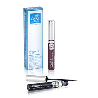 hypoallergenic fluid eyeliner for sensitive eyes and contact lens wearers