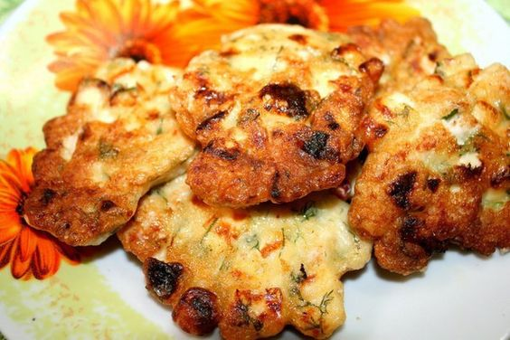 Chicken patties with cheese - http://wonderdump.com/chicken-patties-with-cheese/