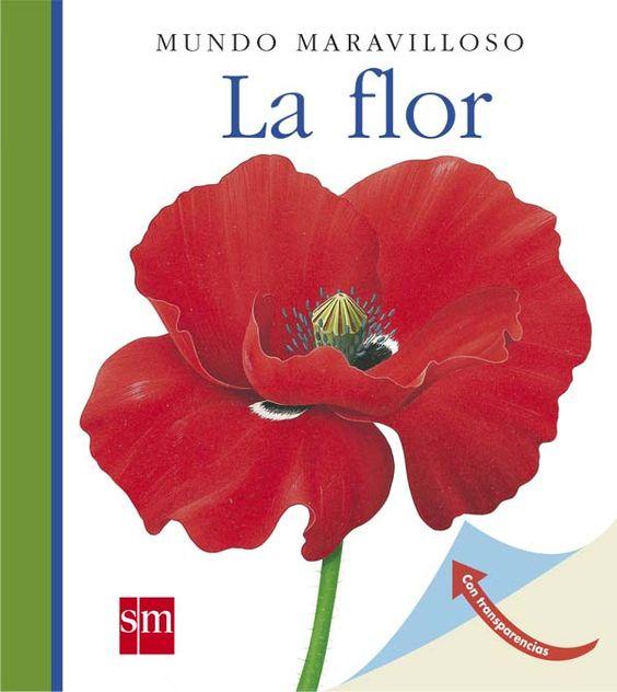 +3 La flor. Un libro que ilustra sobre las distintas especies que hay entre las flores.   Se enseña cómo es el ciclo reproductor, sus cuidados y, en definitiva, a disfrutar de estos maravillosos seres vivos.