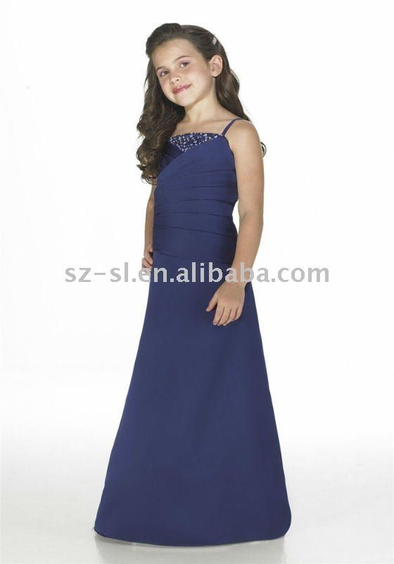 Long 2012 flower girl dress girls pageant dresses prom dresses for ...