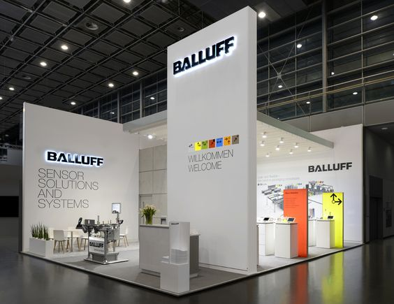 Expo Exhibition Stands Tall : Exhibitor balluff gmbh system expotechnik emea co