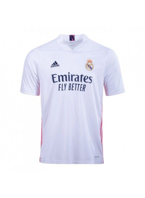 20 21 Real Madrid Home White Soccer Jerseys Shirt In 2020 Jersey Shirt Soccer Jersey Shirts
