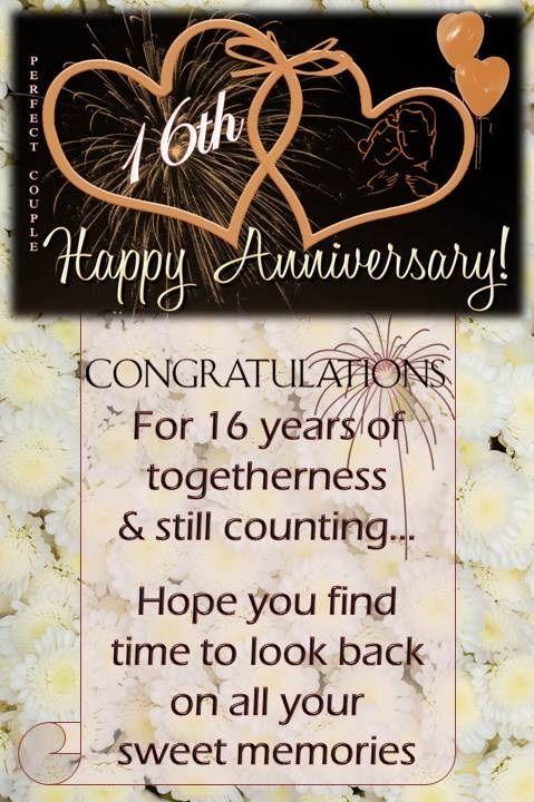 16th Wedding Anniversary Wishes Wedding Anniversary Wishes 50th Anniversary Wishes 25th Wedding Anniversary Wishes