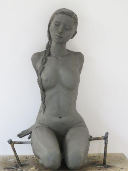 Marie Paule Deville Figurative Sculpture Art Sculpture