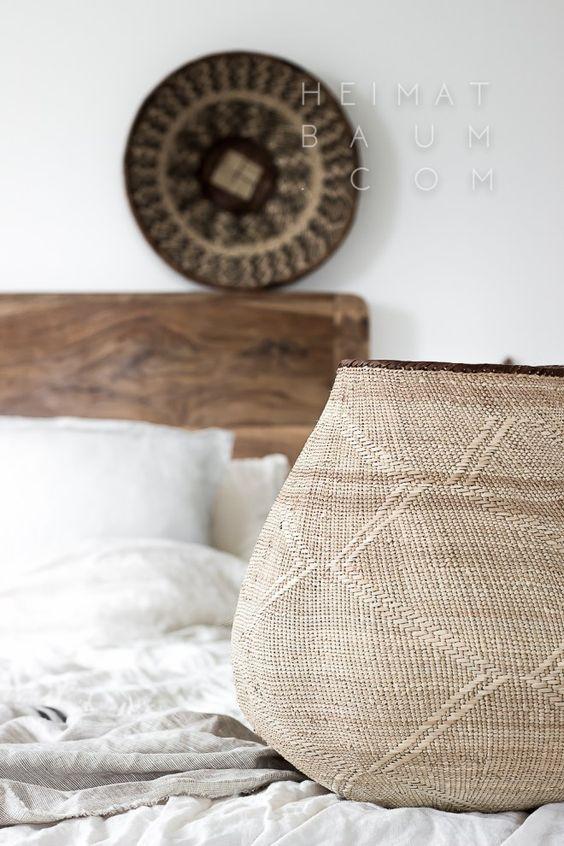 Scethno Interior vom Feinsten! - HEIMATBAUM Couleur Locale Basket, Folded Hands Print, Art, Ethno, Scandi