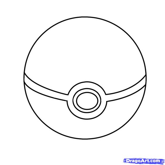 How To Draw A Pokeball Step 6 Pokemon Coloring Pokemon Coloring Pages Pikachu Coloring Page
