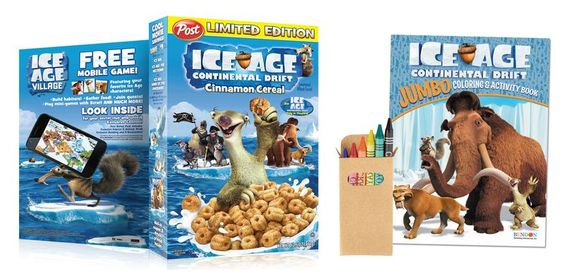 Ice Age: Continental Drift prize pack giveaway; Ice Age 4; #giveaway via @mommypalooza.com