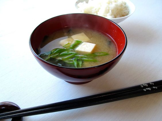 Miso Soup with tofu and scallions | Nom, nom, nom... | Pinterest ...