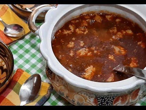 شربة فريك عاصمية بطبع ريحة رمضان Chorba Frik Algeroise Youtube Food Ramadan Soup