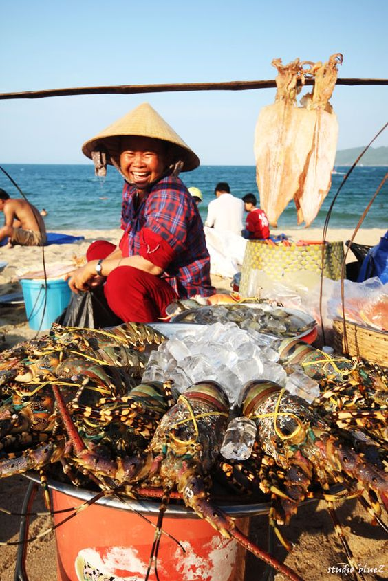 """The seller on the beach"" Nha Trang/ Vietnam                              …"