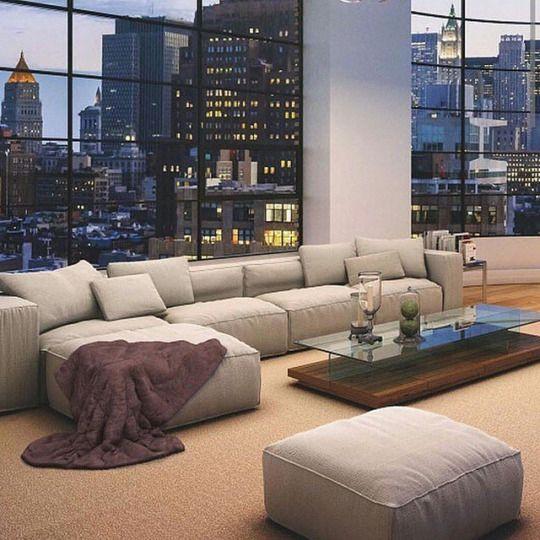 Lovely Room Design: Pretty View, Lovely Living Room
