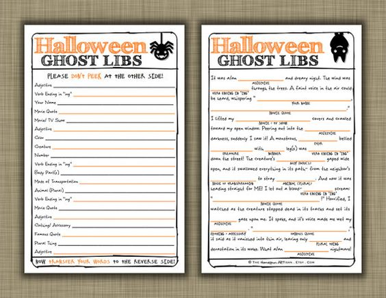 halloween games to print