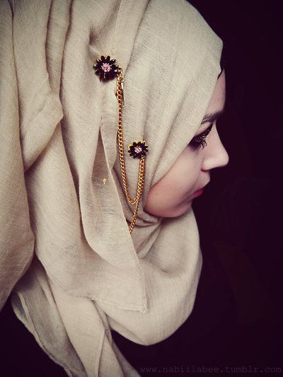 Hijab brooch pin