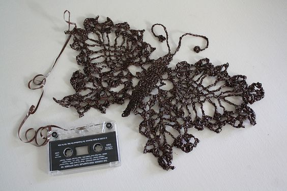 Cassette Tape to Butterfly Metamorphosis (crochet) includes link to free…
