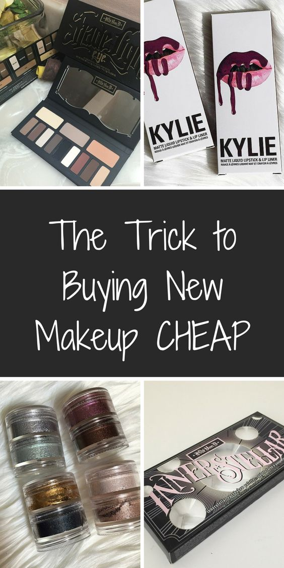The brands you want, at the prices you'll love - Install today to take advantage of daily deals! Shop brand new makeup from top industry names like MAC Cosmetics, Kat Von D Beauty, Kylie Cosmetics, and much much more at up to 70% off retail! Click or tap the image to download the FREE app now!