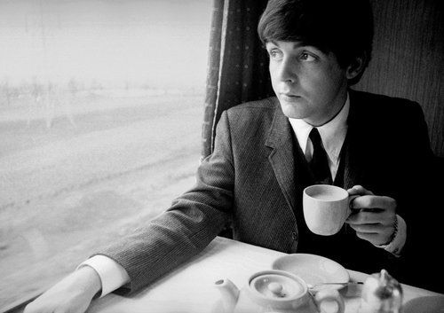 Paul McCartney loves tea too!