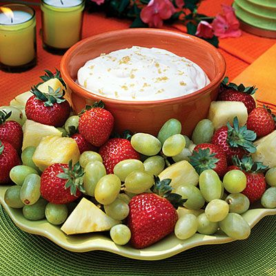Brown Sugar Fruit Dip  (40 Party Appetizers and more)!