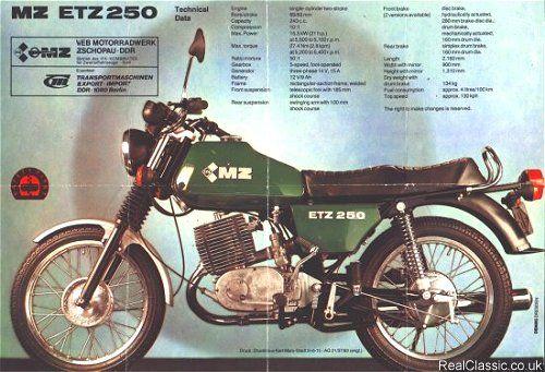 Mz Classic Motorcycles East German Car Vintage Motorcycles