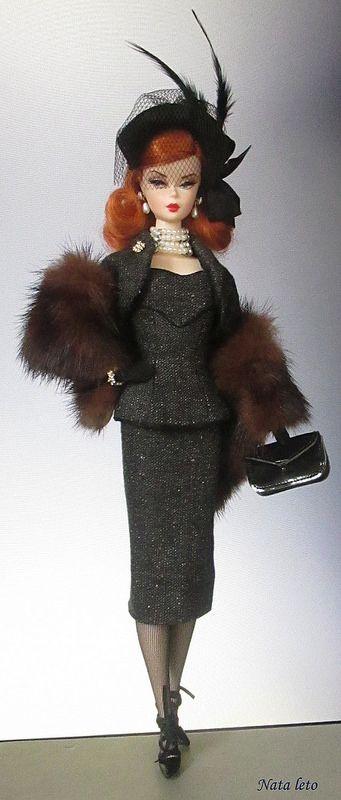 Silkstone Barbie Mad Men Dolls Joan Holloway